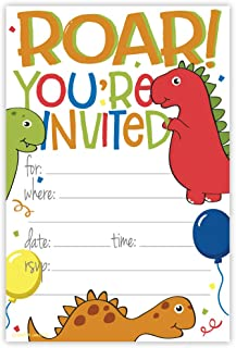 Best dinosaur first birthday invitations Reviews