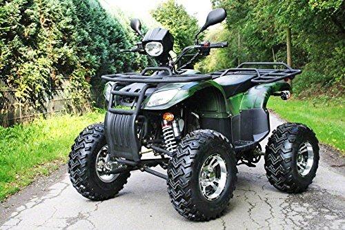 CONSTRUIDO 250cc EGL Farmer Admisión en calle Aluminio Ruedas De Enganche De Remolque Quad ATV