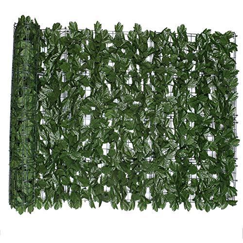 Cerca artificial de la hoja de arce, cerca verde artificial, la mejor decoración para la pared del supermercado de la alameda de compras del hotel,1.5×3m