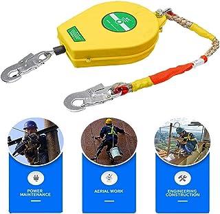 DFGENLY Anticaídas Retráctil Bloqueo Freno de Cuerda Protección contra Caídas Autofrenantes Protector de Rescate, para Andamios, Carga: 150 kg3m