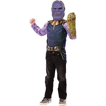 Avengers - Disfraz de Thanos Infinity War para niños, pecho ...