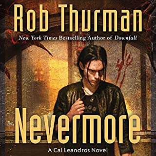 Nevermore audiobook cover art