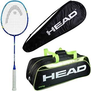 HEAD Head Xenon 3.0 Badminton Racquet Set with Inferno 70 Green kitbag