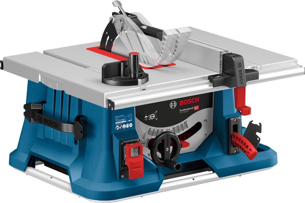 Bosch Professional GTS 635-216 - Sierra circular de mesa (1600 W, Ø disco de sierra 216 mm, en caja): Amazon.es: Bricolaje y herramientas