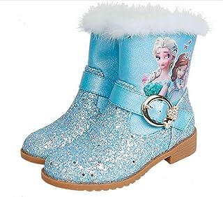 LOBTY Bottes pour enfants automne et hiver Nouvelles petites filles bottes en coton pour filles princesse ainsi que bottes...