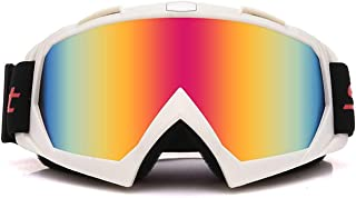 Aooaz TPU PC Motorcycle Helmet Riding Off Road Set Outdoor Ski Goggles Goggles
