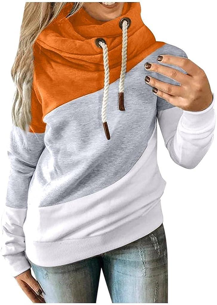 ONHUON Womens Hoodies,Women Hoodies Pullover Zip Up Plus Size Aesthetic Trendy with Pockets Graphic Stripe Sweatshirt