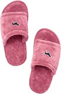 Victoria's Secret Pink Cozy Soft Slipper Soft Begonia Small