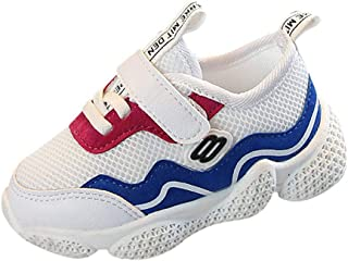 Boomboom Baby'Shoes Kids Boys Girls Sports Shoes Comfortable Light Weight Hook & Loop Sneakers for Boys