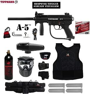 MAddog Tippmann A5 A-5 Starter Protective CO2 Paintball Gun Package