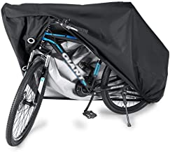 SKEIDO Waterproof Bike Cover Heavy Duty Oxford Bicycle Cover with Double stitching & Heat Sealed Seams, Protection from UV...