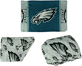 Northwest Philadelphia Eagles 3 Piece Twin Bed Sheet Set