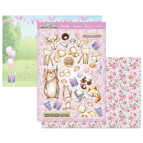 Hunkydory Foxy and Friends Forest Friends Topper Set Card Kit FOXY903
