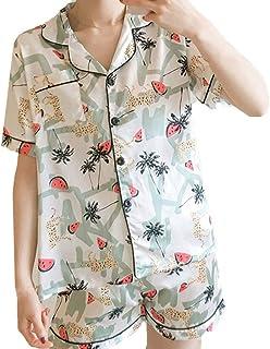 53f0bba7759 Loolik Camisones Camisones Sexys Mujer,Pijamas de Mujer de Dos Piezas  Estampado de Sandia