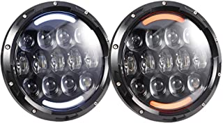 Best round headlight conversion for jeep yj Reviews