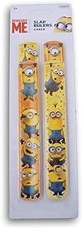Innovative Designs Despicable Me Minions Slap Bracelets - 4 Count
