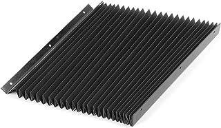 DealMux Flexible Bellows 750mm Long Plastic Dust Cover for CNC Machine