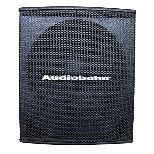 bafle 18 pulgadas amplificado fabricante Audiobahn
