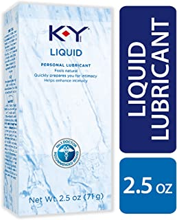 K-Y Liquid Personal Water Based Lubricant, 2.5 Ounce