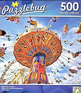 Big Swing Carousel - 500 Piece Jigsaw Puzzle - Puzzlebug - p 004