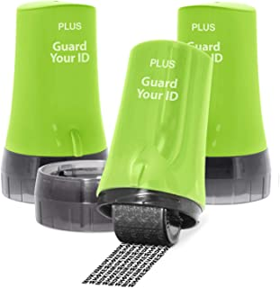 Guard Your ID Advanced Rollers Identity for Theft Prevention and Security (Regular 3-Pack, Green)