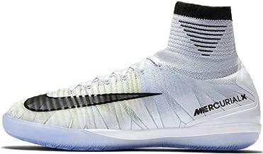 Nike Mercurialx Proximo II CR7 5.5 Interior Niño 38 Bota de fútbol - Botas de fútbol (Interior, Niño, Masculino, Suela para Interiores, Negro, Mint Colour, Blanco, Monótono)