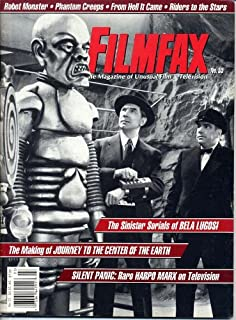 Filmfax Magazine 55 Bela Lugosi JULES VERNE Sue Ane Langdon SINISTER SERIALS Harpo Marx FROM HELL IT CAME March 1996 C