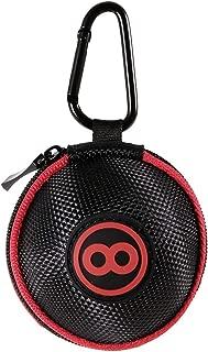 Lixada Cue Ball Case Clip-on Attaching Billiard Balls Holder Cue Ball Bag Pool Ball Training Balls Case