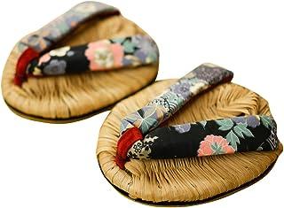 足半草履?女性用(鼻緒の柄はおまかせ)NHKで放送された。浮き指対策 姿勢矯正【足半屋】