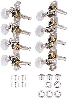 Mandolin Tuning Pegs, 4L4R Machine Heads String Tuning Pegs for 8 Strings Mandolin Instruments Accessory