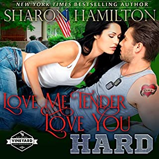 Love Me Tender, Love You Hard audiobook cover art