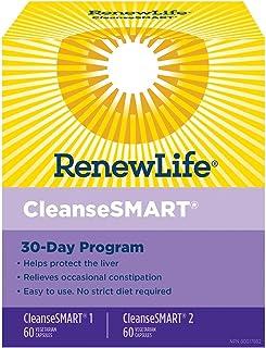 Renew Life Cleanse Smart Total Body Vegetarian Capsules, 120 Capsules
