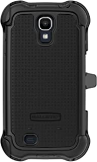 Ballistic SX1159-A065 MAXX Series Shell Gel Case for Samsung Galaxy S4 - Retail Packaging - Black