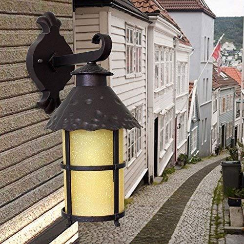 Creative Simple Aluminium wandlamp Spotlights Retro Prevent Rust Waterproof Patio Cafe Muur Light Sconce Nostalgia Villa Deur Buiten Muur Lantaarn Verlichting