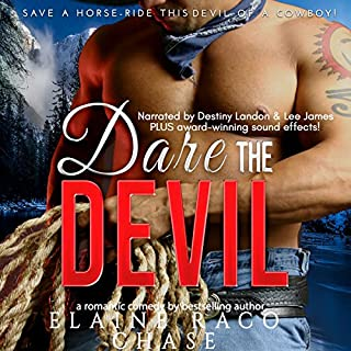 Dare the Devil audiobook cover art