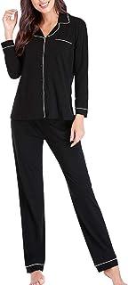 Pajamas for Women Lounge Cotton Sleepwear Comfy Soft Long...