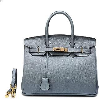 Leather handbag lychee platinum bag ladies handbag shoulder bag
