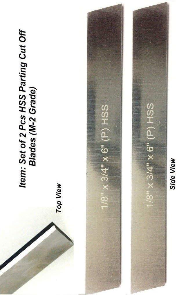 Set of Price reduction 2 HSS Trapezoid Blades 1 8