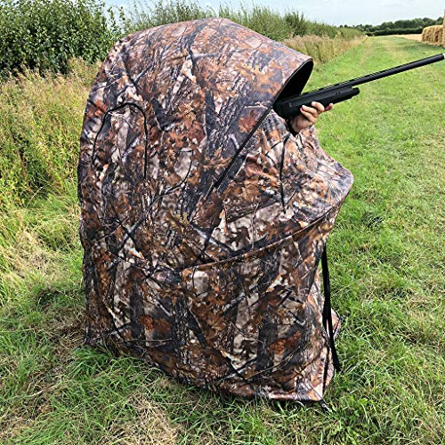 Decoy Deals 1 Man Popup Blind Tent With Seat
