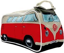 VW Volkswagen T1 Camper Van Toiletry Wash Bag - Red - Multiple Color Options Available