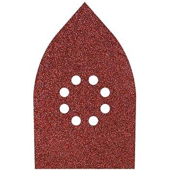 25 Black /& Decker Multi Ponceuse abrasives pour ponceuse Grain 240 KA230E KA272 KA280K