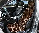 Excellent Life Sitzbezug mit Holzperlen, Massagekissen für Auto, LKW, schützt den Rücken vor Schweiß während der Fahrt, Macht das Fahren erträglicher und weniger schmerzhaft auf Langen Reisen