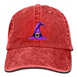 BQJ Apparel Denim - Gorra de béisbol para adultos, diseño vintage, algodón lavado, ajustable