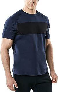 TSLA Men's HyperDri Short Sleeve T-Shirt Athletic Cool Running Top MTS Series