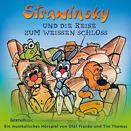 Couverture de Strawinsky und die Reise zum Weißen Schloss