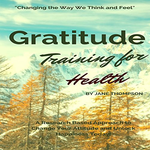 Gratitude Training for Health audiobook cover art