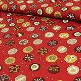 Stoffe Werning Baumwollstoff Weihnachten Sterne