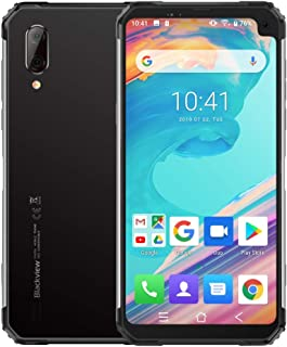 Shenzhen brand smartphone BV6100, 3GB+16GB, IP68 Waterproof Dustproof Shockproof, 5580mAh Battery, 6.8 inch Android 9.0 MTK6761 Quad-core up to 2.0GHz, Network: 4G, OTG, NFC(Grey) (Color : Silver)