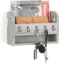 wall mount organizer for keys mail