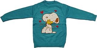 Cute Collection- Woolen Sweater Cum Sweatshirt/Top for Baby Boy's & Girls (Multi-4, 4-5 Years)